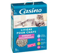 litiere chat geant casino